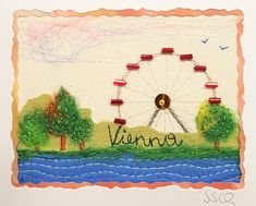 """""""Wien"""", 6,5 x 8,5 cm"""