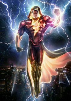 Shazam? He will always be Captain Marvel to me.