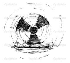 radiation symbol tattoos