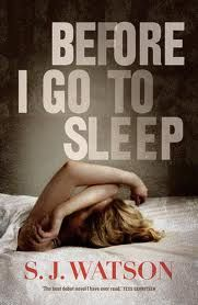 Chapter 1 - Take 1: Before I Go to Sleep by S.J. Watson; the first paragraphs