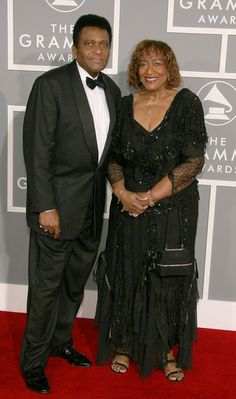 CHARLIE PRIDE AND WIFE