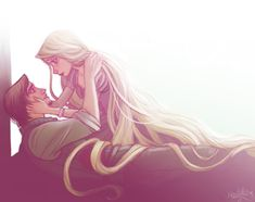 Awww. I love posting tangled stuff they have some great fan art!