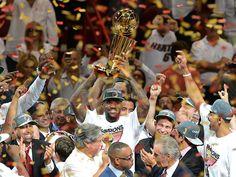 MIAMI Heat Wins NBA Title after Splendid Performance by LeBron James  #LeBorn  James  #NBA #MIAMI Heat