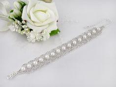 Brautschmuck armband silber  Armband Strass Silber Brautschmuck Hochzeit | Armband | Pinterest ...