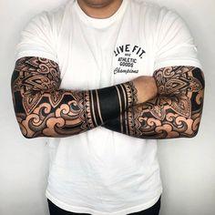 Oriental ornamental tattoo by Melow Perez Forearm tattoo – Top Fashion Tattoos Geometric Sleeve Tattoo, Japanese Sleeve Tattoos, Full Sleeve Tattoos, Japanese Forearm Tattoo, Stripe Tattoo, Japanese Wave Tattoos, Geometric Tattoos Men, Arm Tattoos For Guys, Leg Tattoos