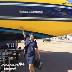 Comissária Dani, super linda e elegante. Arrasou né? Bem vindaaa ❤✈ #crewlife #future #flightattendant  #aeromoças #aeromoça #comissáriadebordo #azulinhasaereas #stewardess #fly #revistatripulante #aero #tripulantes #aviacaocms #comissariasdevoo #azul #blueangel #voeazul #cabincrew #sennasempre