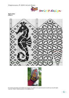 View album on Yandex. Knitting Charts, Knitting Stitches, Knitting Patterns, Craft Patterns, Knitted Mittens Pattern, Crochet Mittens, Norwegian Knitting, Knit Dishcloth, Crochet Chart