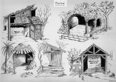 Wood Burning Art, Christmas Nativity, Diorama, Line Art, Coloring Pages, Diy And Crafts, Scene, Fantasy, Landscape
