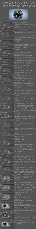 starfish sphere tutorial by xylomon.deviantart.com on @deviantART