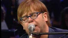 Elton John - Dont let the sun go down on me live, via YouTube.