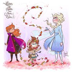 The Art of David Gilson — Bichon-Belle demande un peu de magie d'amour entre. Frozen 2, Frozen Disney, Disney Magic, Disney Sketches, Disney Drawings, Disney Cartoons, Disney Movies, Disney And Dreamworks, Disney Pixar
