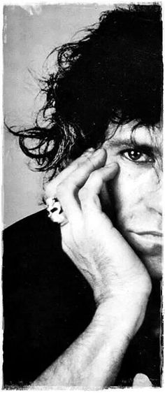 """I've never had inner turmoil about all this. You find a lot of people these days who cannot stand to be alone. You could lock me up in solitary for weeks on end, and I'd keep myself amused."" — Keith Richards"