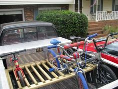 build your own bike storage rack from wood - Google Search