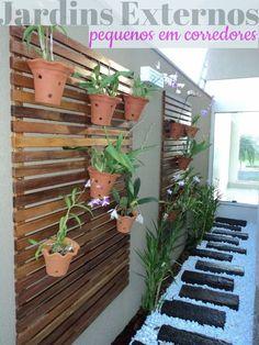 jardinspequenos em corredores