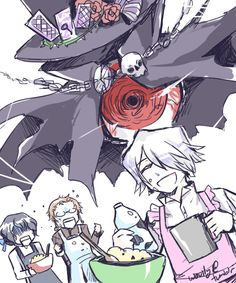 Baker Break ^-^ - Pandora Hearts Gilbert. Reim. Xerxes.