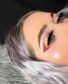 Gorgeous Makeup Ideas My Top Rave Makeup, Glam Makeup, Skin Makeup, Makeup Inspo, Makeup Art, Makeup Inspiration, Beauty Makeup, Exotic Makeup, Makeup Eyebrows
