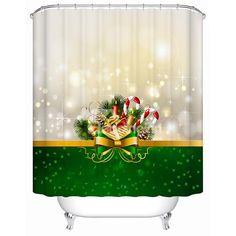 Dreamlike Lovely Fresh Christmas Presents Shower Curtain #bath #shower #curtain