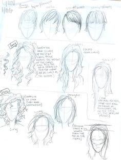 Hair tutorial by burdge-bug.deviantart.com