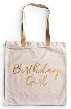 Rosanna 'Birthday Girl' Canvas Tote available at #Nordstrom