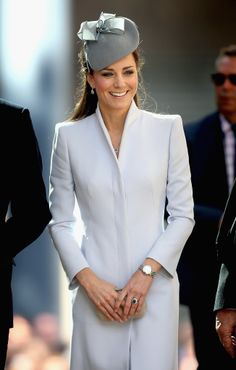 na Austrália, Casal real participou de celebração na Catedral de Saint Andrew, em Sidney.