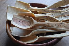 Bowl of March spoons