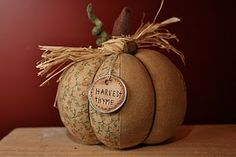primitive fabric pumpkin pattern | ... Crafter - Independent Solavei WAHM: Cloth Patchwork Pumpkin Tutorial