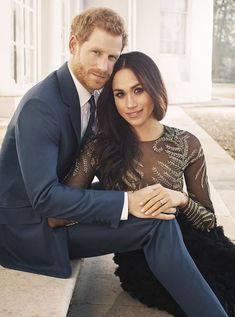 The engagement photos, released on Kensington Palace's social media accounts, are a hit with fans.