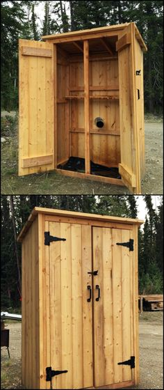 Do you need a large smoker that can take the amount of meat and fish you want to smoke? Then build your very own timber smoker!  http://diyprojects.ideas2live4.com/2016/02/17/how-to-build-a-wooden-smoker/  This DIY project is basically just a simple outdoor closet or shed with minor modifications to serve as a smokehouse.