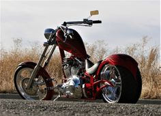 Big Bear Choppers - The Sled Choppers Chopper Motorcycle, Bobber Chopper, Motorcycle Design, Custom Street Bikes, Custom Bikes, Big Bear Choppers, Honda Fury, Motos Harley Davidson, Harley Bikes