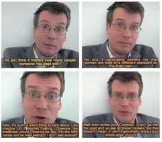 sex advice from john green. <3 #cheerios