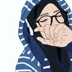 Ya allah aku bersyukur atas kenikmatan mu Anime Muslim, Muslim Hijab, Crown Illustration, Ideal Girl, Islamic Cartoon, Hijab Cartoon, Cute Girl Drawing, Beautiful Muslim Women, Cartoon Sketches