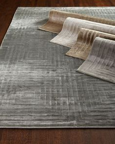 Hugo Rug at Horchow - gray aea rug with texture - simple textured pattern available in 5x8, 9x12, 10x14 and 12x15