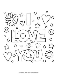 Valentine\'s Day Coloring Pages eBook: Love | Coloring pages ...