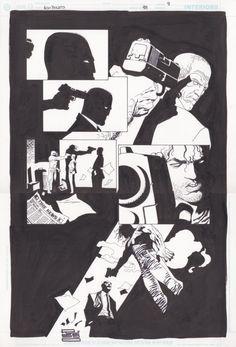 100 Bullets #7: Samurai par Eduardo Risso, Brian Azzarello - Planche originale