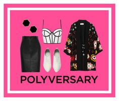 """""""Celebrate Our 10th Polyversary!"""" by aoooooo ❤ liked on Polyvore featuring Calvin Klein Collection, Janna Conner Designs, RED Valentino, Topshop, polyversary and contestentry"""