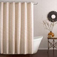 Buy Deron 72-Inch x 96-Inch Extra Long Shower Curtain in Marble from Bed Bath & Beyond