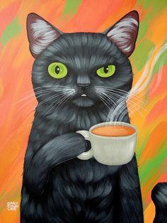 Cary Chun Lee - (black cat)