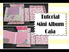 Mini Álbum Caja - TUTORIAL SCRAPBOOK - Video Petición | Luisa PaperCrafts - YouTube