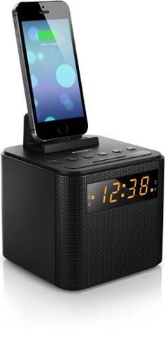 Philips AJ3200 Radio réveil station d'accueil et chargeur universel pour…