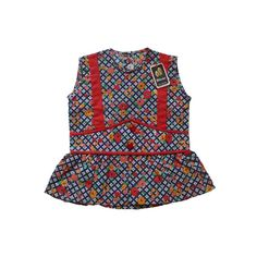 VINTAGE 70's / enfant / robe / robe tablier / par Prettytidyvintage