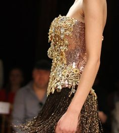Diamonds Forever: Fall-Winter 2014 #Couture Collection by #TonyYaacoub #dress #fashion #parisfashionweek #lebanesedesigner
