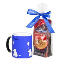 #shower - #Baby elephant blue mug