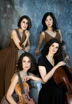 Cecilia String Quartet: Music in the Morning Concert Series Musique classique / Classical Music Fairy Tale Images, Musician Photography, Rockabilly Cars, String Quartet, Music Photo, Classical Music, Music Bands, Orchestra, Photoshoot