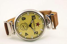 Reloj para hombre, Molnija reloj Сommander reloj - muerte a los espías, URSS reloj, reloj vintage, reloj ruso, mecánico reloj militar, reloj raro