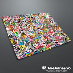 Adesivi per Auto e Moto Sticker Bomb XL