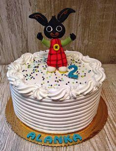 Torty ciasta i ciasteczka Joli: Królik Bing