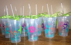 Wedding Party Tumblers by K7KB on Etsy, $6.50