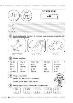 Clasa I : Comunicare în limba română. Clasa I. Partea I - (A) Word Search, Kindergarten, School, Rome, Kindergartens, Preschool, Preschools, Pre K, Kindergarten Center Management