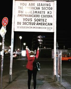 Checkpoint Charlie in Berlin #germany #Berlin #TravelPics by a_moment_of_infinity