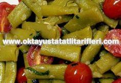 [ Yeşil fasulye salatası tarifi - resimli anlatım ]